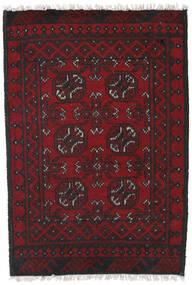 Afgan Dywan 78X113 Orientalny Tkany Ręcznie Ciemnoczerwony/Czarny (Wełna, Afganistan)