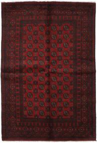 Afgan Dywan 163X240 Orientalny Tkany Ręcznie Ciemnobrązowy/Ciemnoczerwony (Wełna, Afganistan)