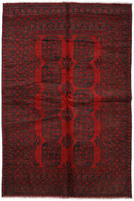 Afghan Rug 158X234 Authentic  Oriental Handknotted Dark Red/Dark Brown (Wool, Afghanistan)