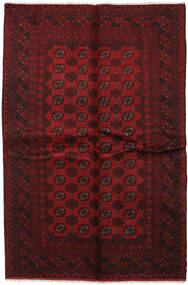 Afghan Rug 163X243 Authentic  Oriental Handknotted Dark Red/Crimson Red (Wool, Afghanistan)
