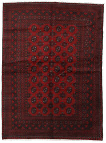 Afghan Rug 167X227 Authentic  Oriental Handknotted Dark Brown/Dark Red (Wool, Afghanistan)
