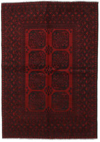 Afgan Dywan 166X234 Orientalny Tkany Ręcznie Ciemnoczerwony (Wełna, Afganistan)