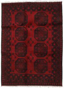 Afgan Dywan 124X164 Orientalny Tkany Ręcznie Ciemnobrązowy/Ciemnoczerwony (Wełna, Afganistan)