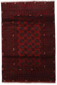 Afghan Matto 121X180 Itämainen Käsinsolmittu Tummanruskea/Tummanpunainen (Villa, Afganistan)