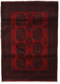 Afgan Dywan 128X178 Orientalny Tkany Ręcznie Ciemnoczerwony (Wełna, Afganistan)