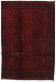 Afgan Dywan 121X174 Orientalny Tkany Ręcznie Ciemnoczerwony (Wełna, Afganistan)