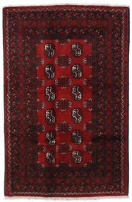 Afgan Dywan 117X177 Orientalny Tkany Ręcznie Ciemnobrązowy/Ciemnoczerwony (Wełna, Afganistan)