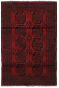 Afgan Dywan 123X184 Orientalny Tkany Ręcznie Ciemnoczerwony (Wełna, Afganistan)