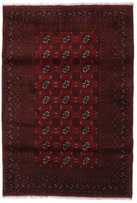 Afgan Dywan 125X180 Orientalny Tkany Ręcznie Ciemnoczerwony (Wełna, Afganistan)