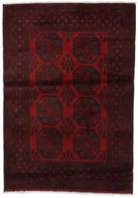 Afgan Dywan 124X176 Orientalny Tkany Ręcznie Ciemnoczerwony (Wełna, Afganistan)