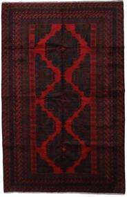Beluch Tappeto 200X315 Orientale Fatto A Mano Marrone Scuro/Rosso Scuro (Lana, Afghanistan)