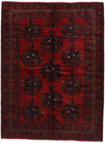Beluch Matta 227X310 Äkta Orientalisk Handknuten Mörkbrun/Mörkröd (Ull, Afghanistan)
