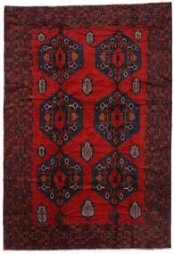 Baluch Rug 265X390 Authentic  Oriental Handknotted Black/Dark Red/Rust Red Large (Wool, Afghanistan)