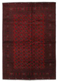 Afgan Dywan 206X294 Orientalny Tkany Ręcznie Ciemnoczerwony (Wełna, Afganistan)