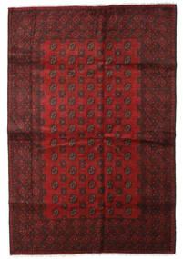 Afghan Rug 200X295 Authentic  Oriental Handknotted Dark Red (Wool, Afghanistan)