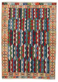 Beluch Teppe 208X290 Ekte Orientalsk Håndknyttet Mørk Grå/Mørk Blå (Ull, Afghanistan)