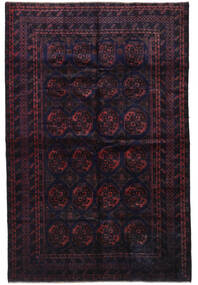 Baluch Rug 200X305 Authentic  Oriental Handknotted Dark Blue/Dark Red (Wool, Afghanistan)