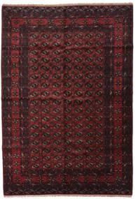 Baloutche Tapis 195X290 D'orient Fait Main Marron Foncé/Rouge Foncé (Laine, Afghanistan)