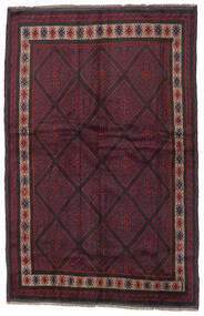 Baluch Rug 150X235 Authentic  Oriental Handknotted Dark Red/Black (Wool, Afghanistan)