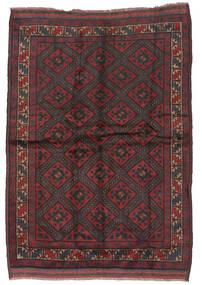 Beluch Tappeto 150X215 Orientale Fatto A Mano Rosso Scuro/Marrone Scuro (Lana, Afghanistan)