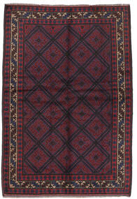 Baluch Rug 156X235 Authentic  Oriental Handknotted Dark Blue/Dark Red (Wool, Afghanistan)