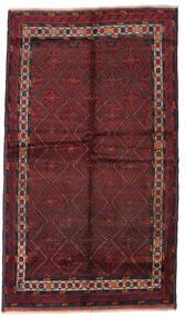 Beludż Dywan 135X235 Orientalny Tkany Ręcznie Ciemnoczerwony (Wełna, Afganistan)