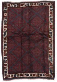 Beludż Dywan 145X210 Orientalny Tkany Ręcznie Ciemnobrązowy/Ciemnoczerwony (Wełna, Afganistan)