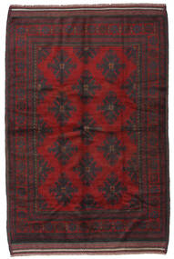 Belutsch Teppich  160X250 Echter Orientalischer Handgeknüpfter Dunkelbraun/Dunkelrot (Wolle, Afghanistan)