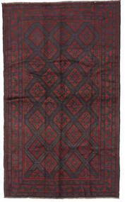 Baluch Rug 150X250 Authentic  Oriental Handknotted Dark Blue/Dark Red/Dark Brown (Wool, Afghanistan)