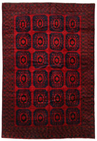 Baluch Rug 280X415 Authentic  Oriental Handknotted Dark Red/Crimson Red Large (Wool, Afghanistan)
