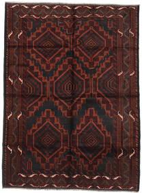 Baloutche Tapis 202X277 D'orient Fait Main Marron Foncé/Rouge Foncé (Laine, Afghanistan)