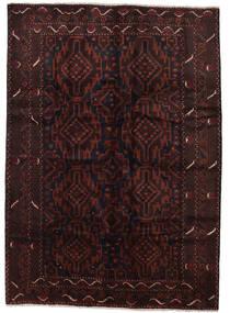 Baloutche Tapis 208X275 D'orient Fait Main Marron Foncé/Rouge Foncé (Laine, Afghanistan)
