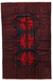 Baluch Rug 155X245 Authentic  Oriental Handknotted Dark Red/Crimson Red (Wool, Afghanistan)