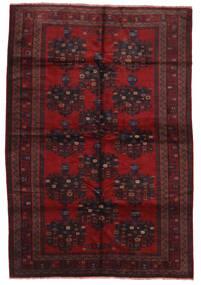 Beludż Dywan 200X290 Orientalny Tkany Ręcznie Ciemnoczerwony/Ciemnobrązowy (Wełna, Afganistan)