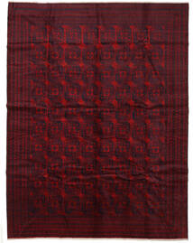 Beluch Matta 300X390 Äkta Orientalisk Handknuten Mörkröd Stor (Ull, Afghanistan)