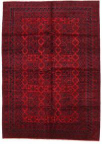 Beluch Teppe 210X297 Ekte Orientalsk Håndknyttet Mørk Rød/Rød/Mørk Brun (Ull, Afghanistan)