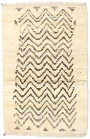 Barchi/Moroccan Berber - Afganistan Teppe 116X177 Ekte Moderne Håndknyttet Beige/Mørk Beige (Ull, Afghanistan)