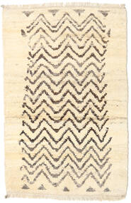 Barchi/Moroccan Berber - Afganistan Rug 116X177 Authentic  Modern Handknotted Beige/Dark Beige (Wool, Afghanistan)