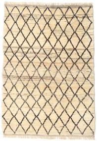 Barchi/Moroccan Berber - Afganistan Matto 120X174 Moderni Käsinsolmittu Beige/Tummanruskea (Villa, Afganistan)