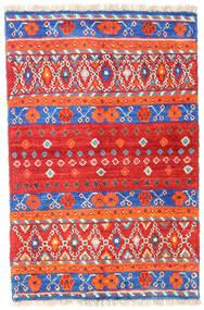 Barchi/Moroccan Berber - Afganistan Matta 93X141 Äkta Modern Handknuten Orange/Beige (Ull, Afghanistan)