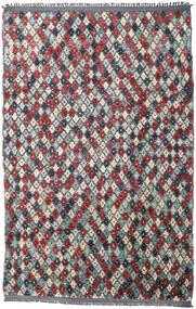 Barchi/Moroccan Berber - Afganistan 絨毯 202X300 モダン 手織り 濃いグレー/ベージュ (ウール, アフガニスタン)