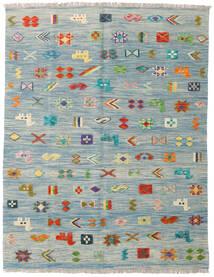 キリム Ariana 絨毯 151X196 モダン 手織り 薄い灰色/水色 (ウール, アフガニスタン)