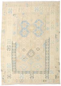 Kilim Afgan Old Style Dywan 178X255 Orientalny Tkany Ręcznie Beżowy/Ciemnobeżowy (Wełna, Afganistan)