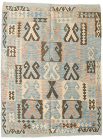 Kilim Afghan Old Style Rug 148X194 Authentic  Oriental Handwoven Light Grey/Light Brown (Wool, Afghanistan)