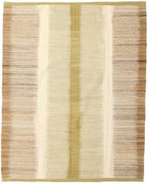 Kelim Moderni Matto 186X234 Moderni Käsinkudottu Tummanbeige/Beige/Vaaleanruskea/Keltainen (Villa, Afganistan)