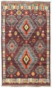 Barchi/Moroccan Berber - Afganistan Dywan 114X192 Nowoczesny Tkany Ręcznie Ciemnoczerwony/Ciemnobrązowy (Wełna, Afganistan)