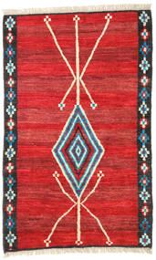 Barchi/Moroccan Berber - Afganistan Teppich  118X187 Echter Moderner Handgeknüpfter Rost/Rot/Rot (Wolle, Afghanistan)