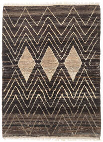 Barchi/Moroccan Berber - Afganistan Rug 107X149 Authentic  Modern Handknotted Dark Brown/Light Brown (Wool, Afghanistan)