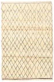 Barchi/Moroccan Berber - Afganistan Dywan 122X184 Nowoczesny Tkany Ręcznie Beżowy/Ciemnobeżowy (Wełna, Afganistan)