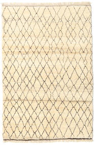 Barchi/Moroccan Berber - Afganistan Matto 122X184 Moderni Käsinsolmittu Beige/Tummanbeige (Villa, Afganistan)